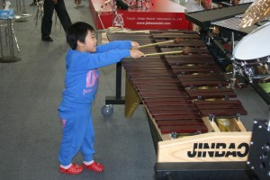 I think I'll be a xylophonist when I grow up