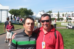Ryder Cup winner Francesco Molinari meets one of the fans!