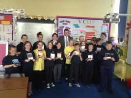 A class set of iPads for kids in Garlieston Primary School