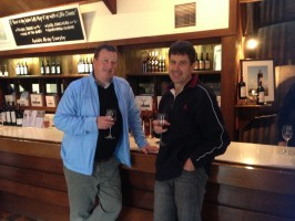 Wine tasting with Phil Brown near Wangaratta - best wine ever!