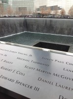 Reflecting Pool at the World Trade Center site