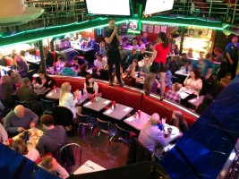 Waiters and waitresses take their chance to sing on Broadway!