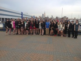 Everyone looking forward to the evening cruise and dinner